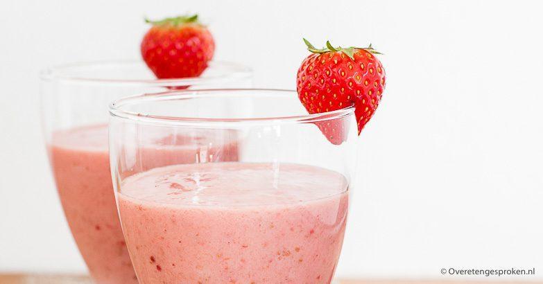 aardbeien shake