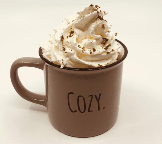 Warme chocolade melk mok Cozy